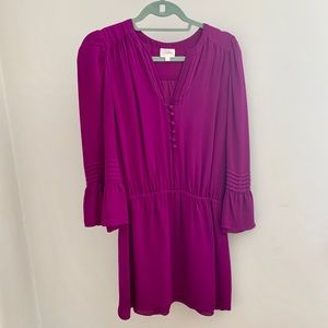 Parker Fuchsia Dress